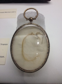 The locket of Mary Tudor's hair