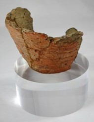 A Neolithic pot.