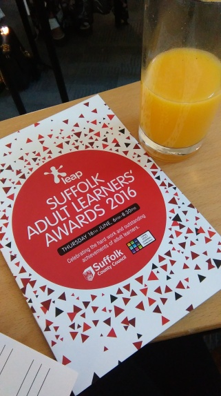 The Suffolk Adult Learners' Awards 2016
