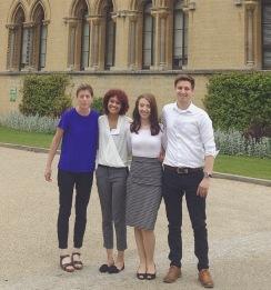 Rachel, Em, Elisha and I
