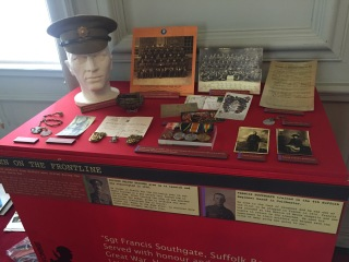 Battle of the Somme Frontline display