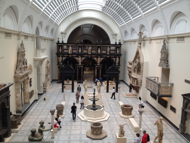 Inside the Victoria and Albert Museum