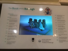 Museum interactives - the Book of the Borough