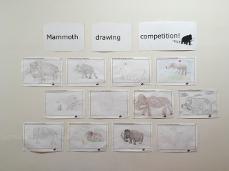 Our mammoth drawing competition