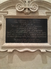 In memory of Lionel George Lawson - an Etonian who lost his life in 1903