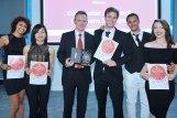 2015 - 16 Trainees accepting their award