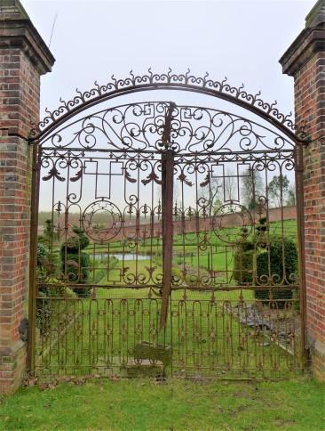 The walled garden gates