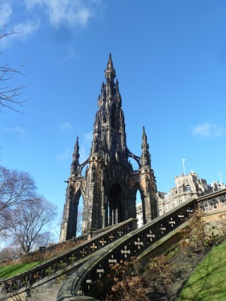 The sights of Edinburgh
