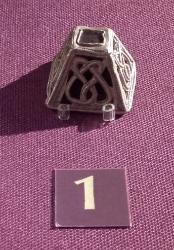 Anglo Saxon Sword Belt Mount from the Rendlesham Hoard
